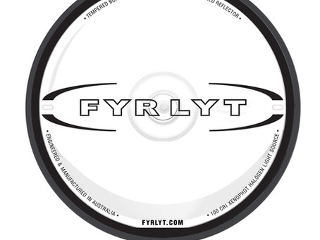 2019 brings a new look to FYRLYT driving lights.