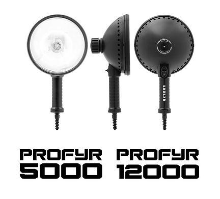 PROFYR 5000 12000 Handheld Spotlights