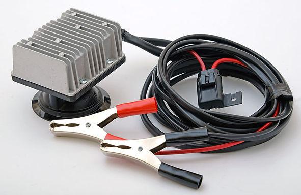 FYRLYT PROFYR 12000 12-24V step-up convertor with a true PROFESSIONAL grade suction base
