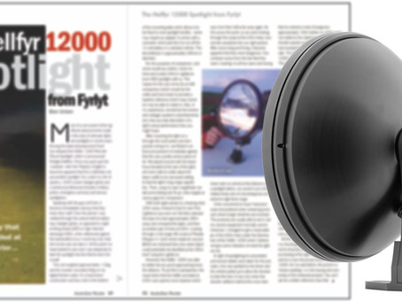 FYRLYT HELLFYR 12000 spotlight review by the SSAA, Australian Hunter magazine.