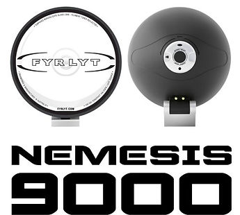 FYRLYT NEMESIS 9000 Driving Light - The light that redefined what high performance driving lights should deliver in light quality.