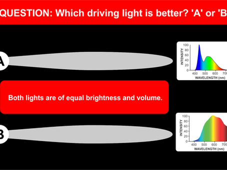 Choosing the best driving lights for your 4x4 or truck. 'A' or 'B'? Beware of the &#