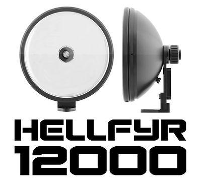 FYRLYT HELLFYR 12000 Spotlight - The new benchmark in professional remote mount spotlights.