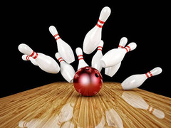 Volar Security supports local education charity bowling event.