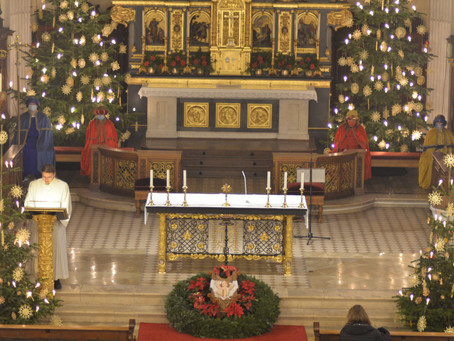 Dreikönigstag in der Pfarreiengemeinschaft mit Gottesdienst und gemeinsamer Andacht