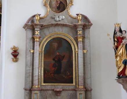 Innenrenovierung Pfarrkirche St. Michael in Bildern: Stand Dez./Jan.