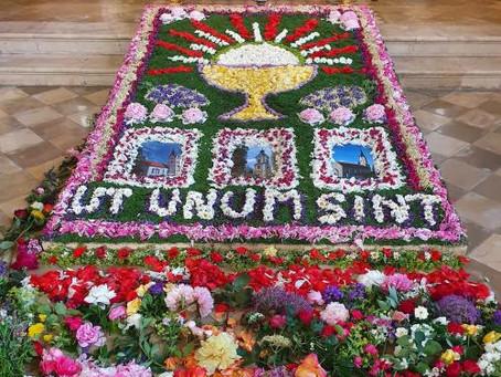 Aktion Flowerpower an Fronleichnam 2020