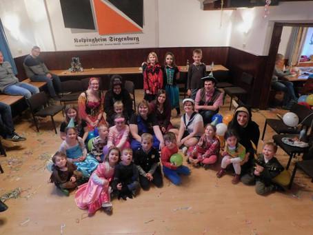 Kolpingjugend Siegenburg Kinderfasching 2020