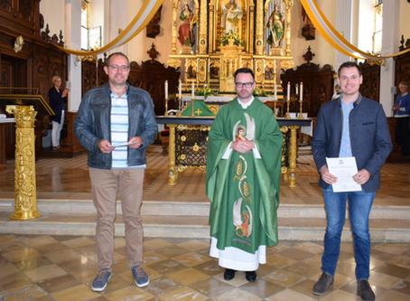 Neue Kommunionhelfer in Siegenburg