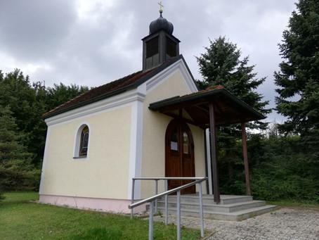 Vandalismus in der Johannes-Nepomuk-Kapelle St. Johann