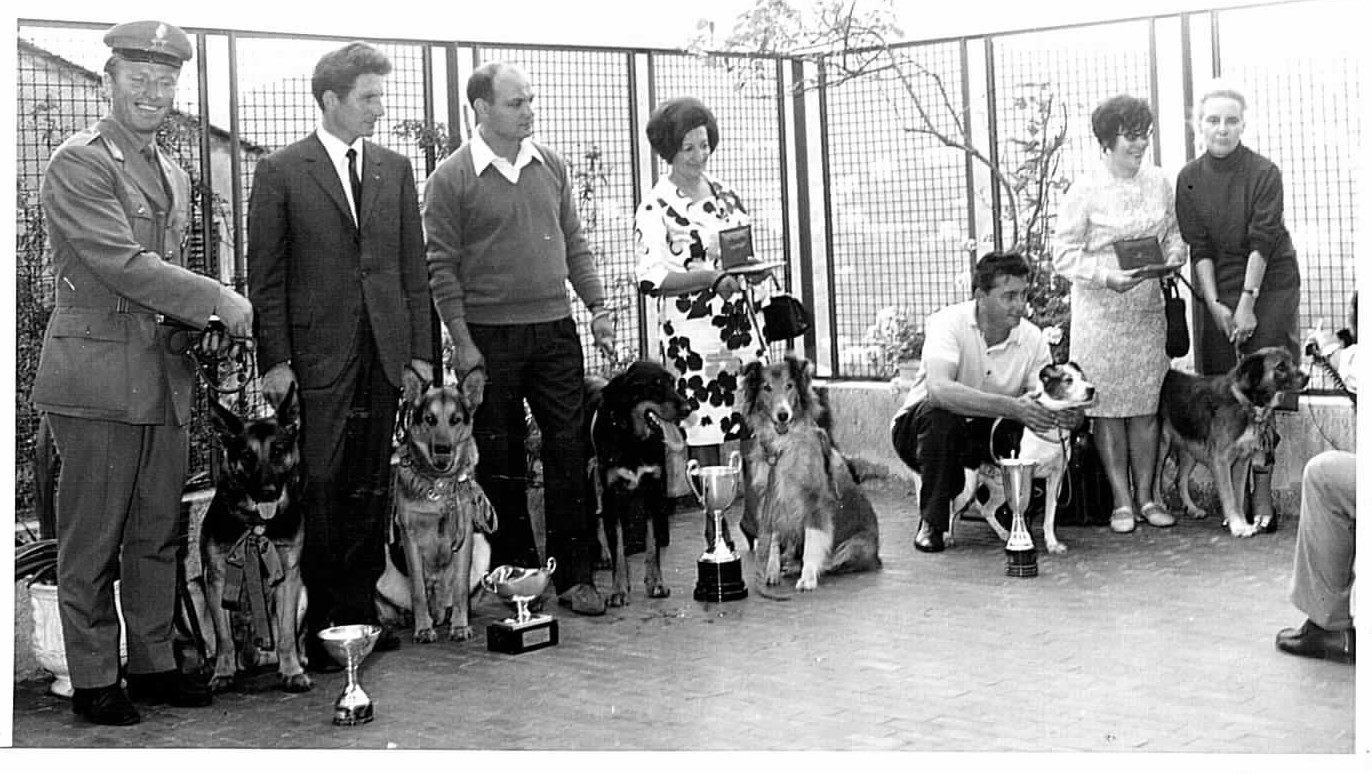 Premiazione anni 60