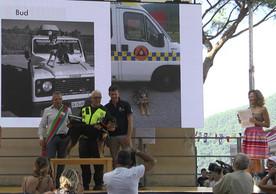 Soccorso Cinofilo Liguria - Protezione Civile premiazione con Stefano Vergante e Fabio Tosi, Regione Liguria