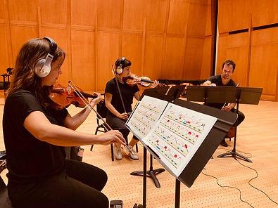 Iranian Composer Amin Sharifi Mivos Quartet performing Maximum Insufficiently Identical Outlines