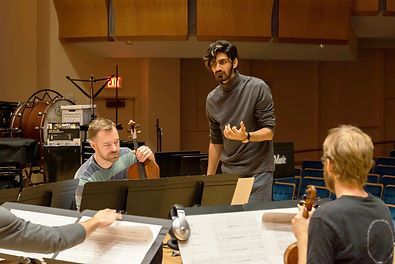 Amin Sharfi Iranian Composer working with the JACK Quartet performing Mise-en-scene