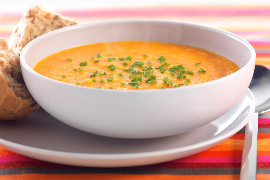Carrott & Coriander Soup