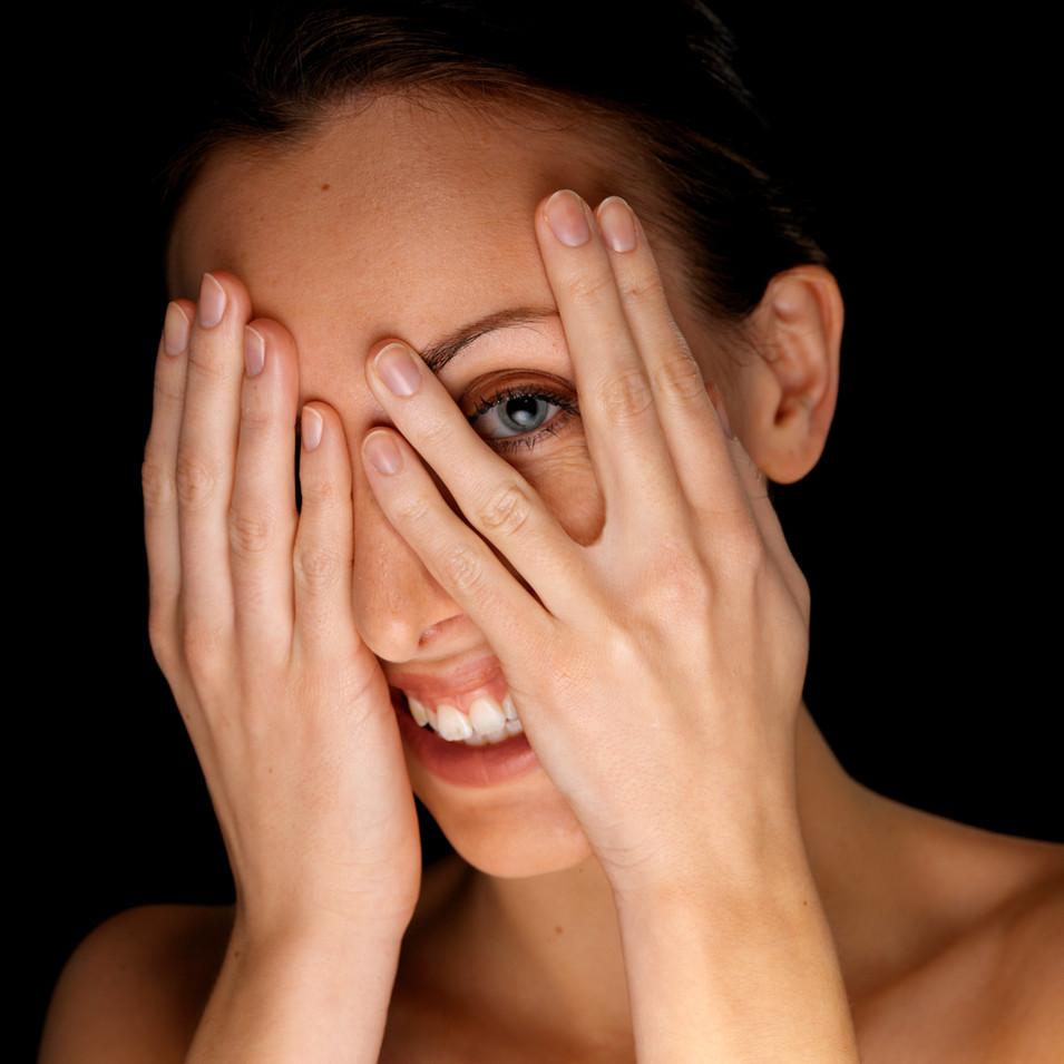 Woman's Face & Hands