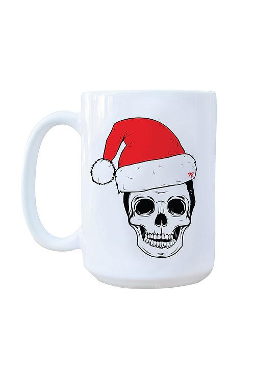 15oz Santa Skull Mug