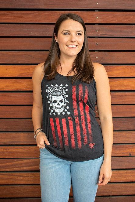 Skull Flag Women's Tank