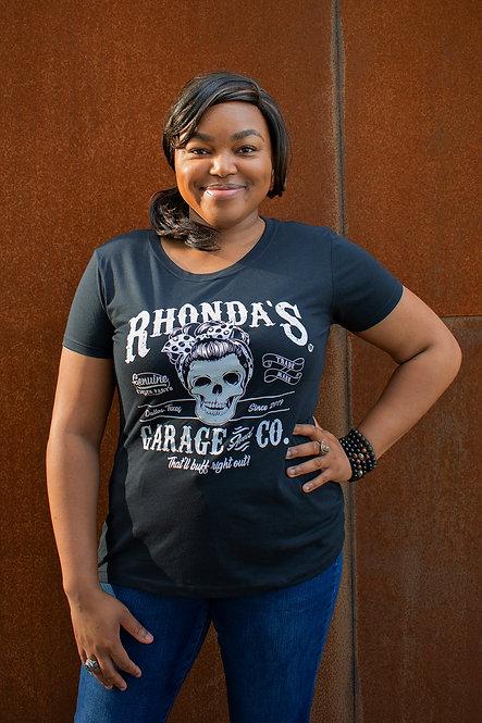 Rhonda's Garage & Co. Ladies Tee