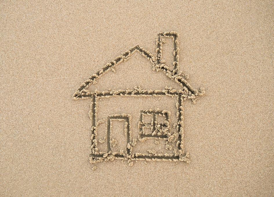 House painted on beach sand.jpg