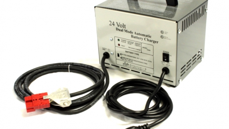 Charger, 24-volt / 12amp with SB50 red DC plug
