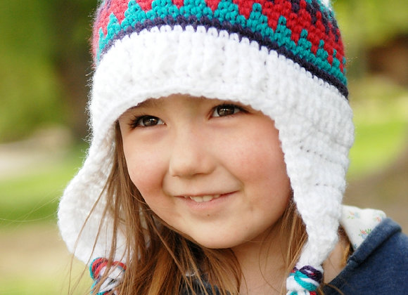 Old School Beanie - CROCHET PATTERN