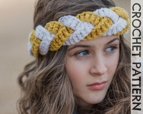 Outfitters Braided Headband Crochet Pattern