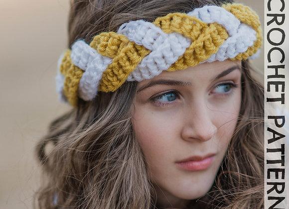 Outfitters Braided Headband - CROCHET PATTERN