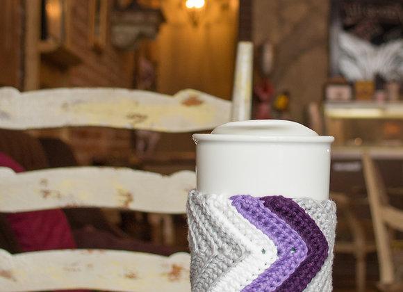 Eddyline Chevron Coffee Cozy
