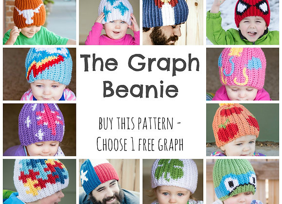 Graph Beanie Base Pattern & Tutorials