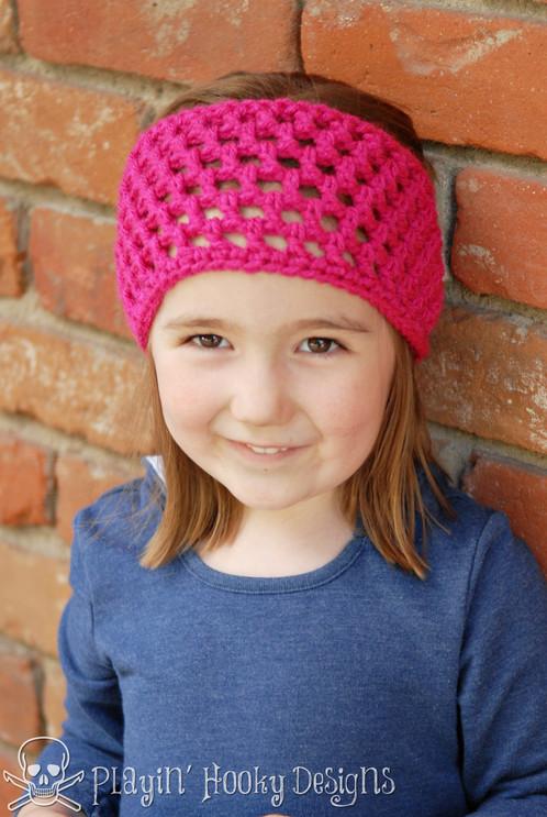 Waffle Headband Crochet Pattern