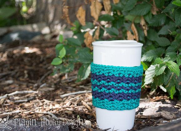 Timberline Coffee Cozy - CROCHET PATTERN