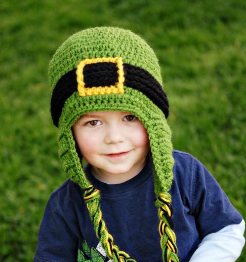 Leprechaun Ski Beanie Crochet Pattern