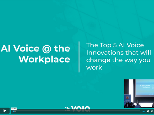 AI Voice in the Workspace