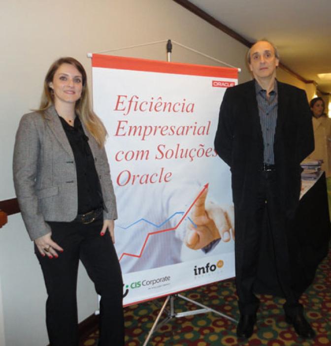 InfoA2 Evolution realizou evento em Curitiba (PR) sobre eficiência empresarial com soluções Oracle