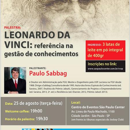 Info A2 apoia palestra de Paulo Sabbag