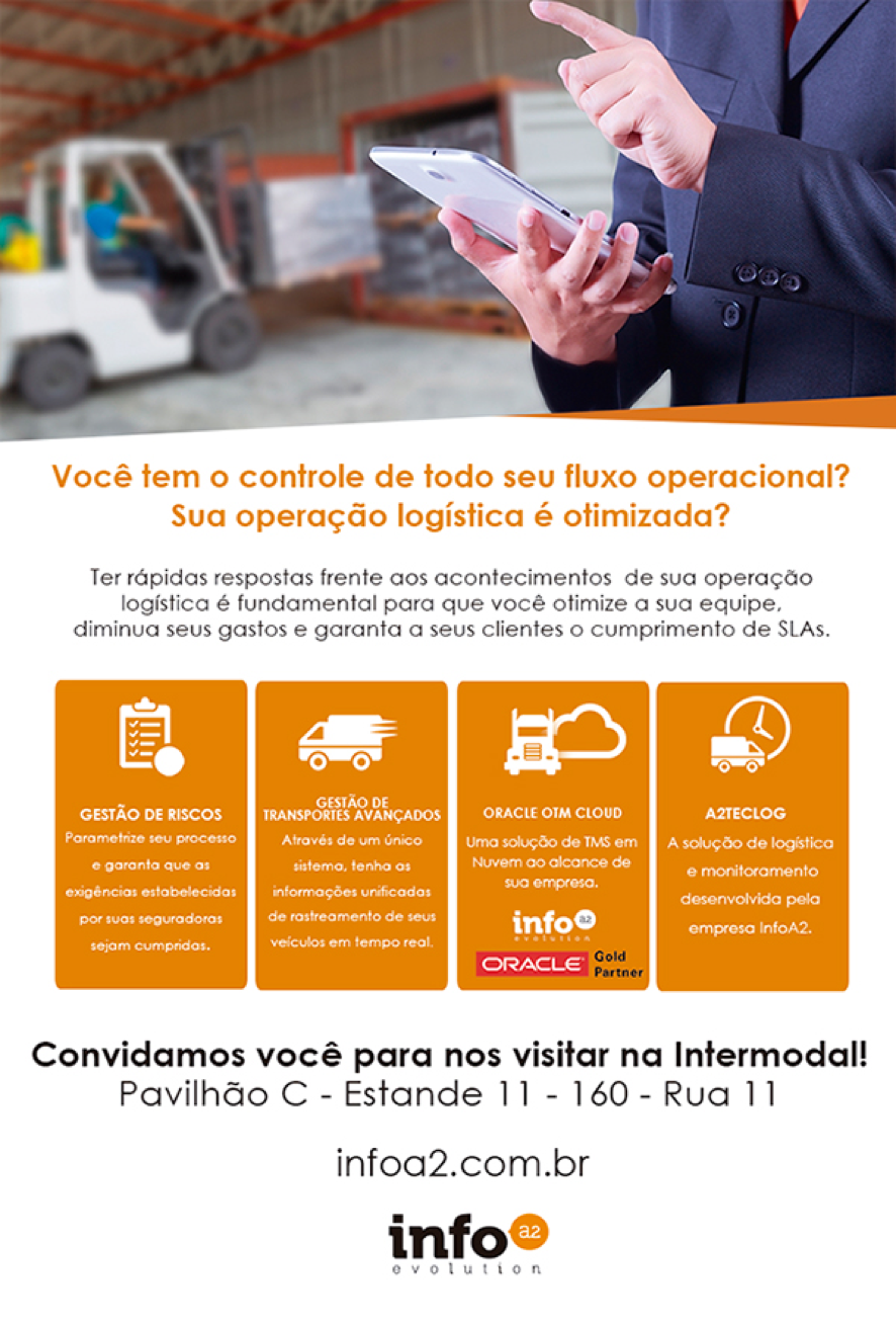 Convidamos você para nos visitar na Intermodal