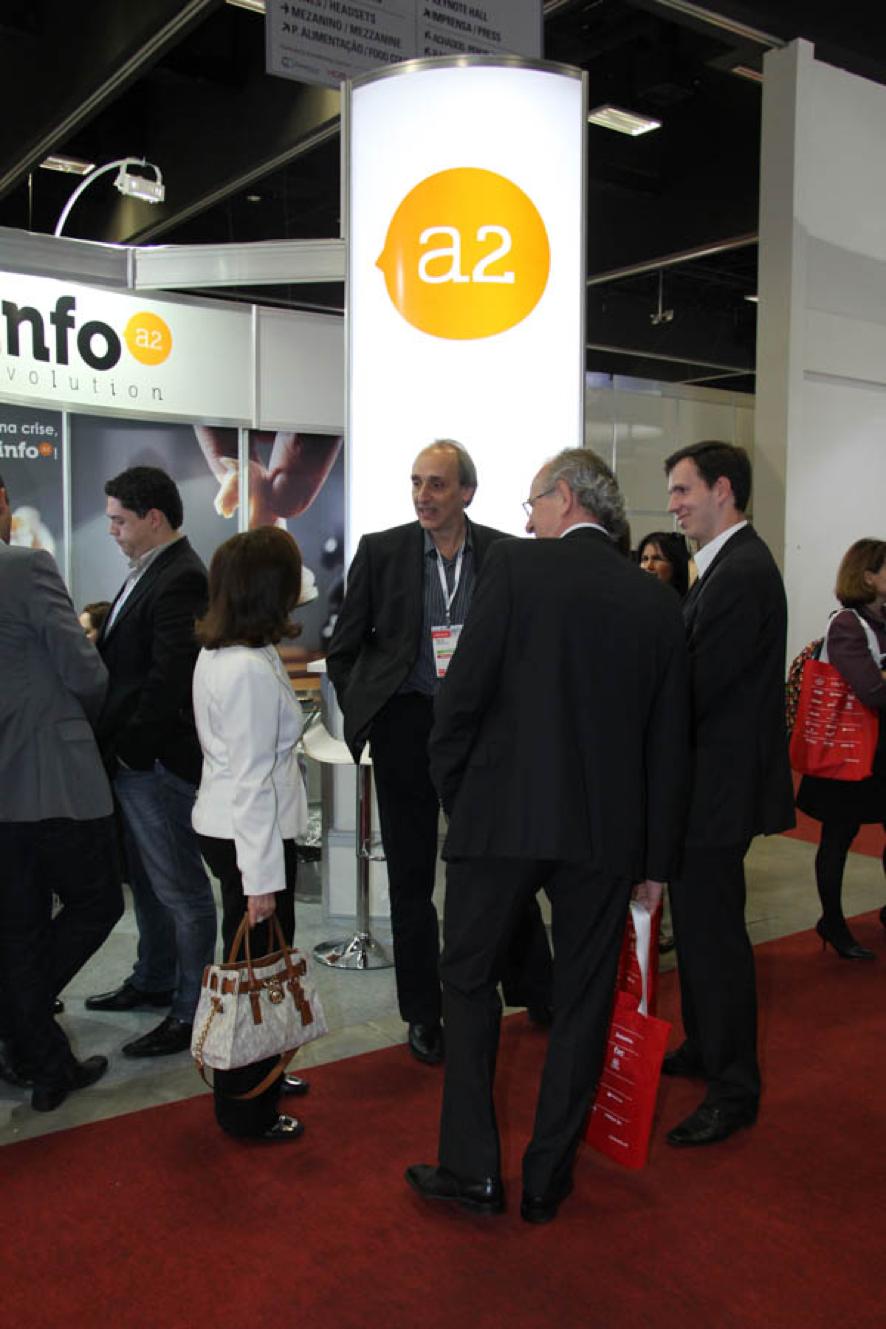 A Info A2 está participando do Oracle OpenWorld