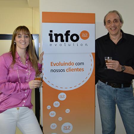 Festa de confraternização de fim de ano da InfoA2