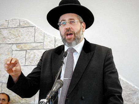 Chief Rabbi of Israel warned President of Lithuania against Sports Palace development
