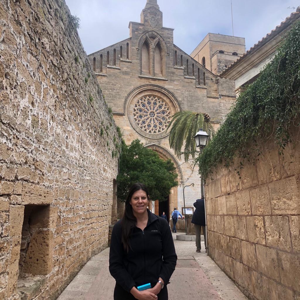 Old city Majorca Spain