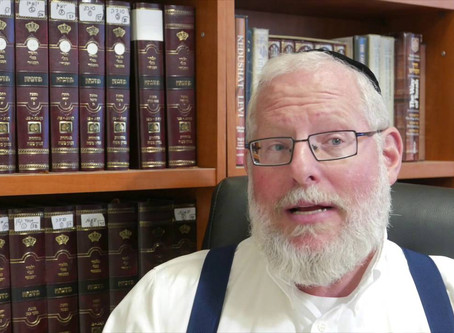 Rabbi Aba Wagensberg Men's Shiur on Parsha  Hashavua