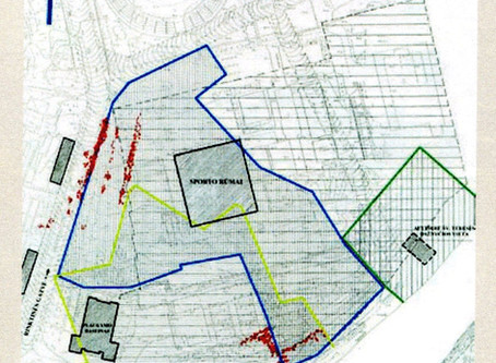 "Maps show conclusively that ""Sports Palace"" is in heart of Jewish cemetery"