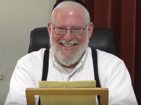 Intro to Rabbi Wagensberg's Shiur (Live) on Parshas Ki Teizei