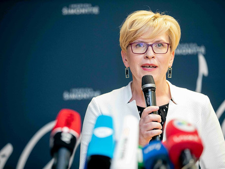 PM Ingrida Šimonytė defines new watershed moment in Lithuanian thinking