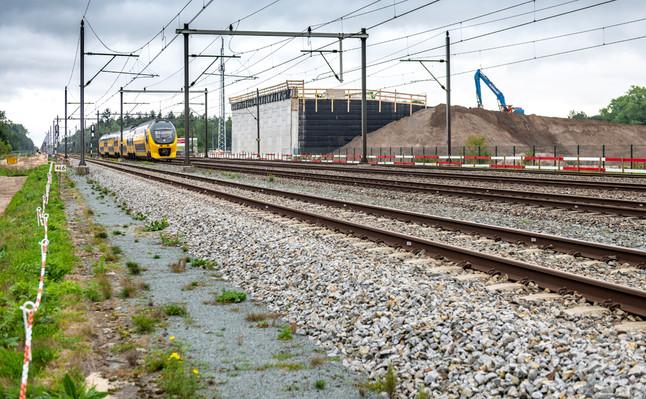 Ecoduct over de spoorlijn Eindhoven-Boxt