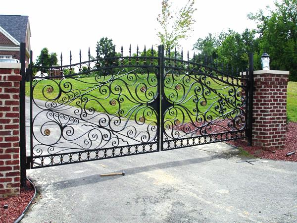 Driveway/Property Gate