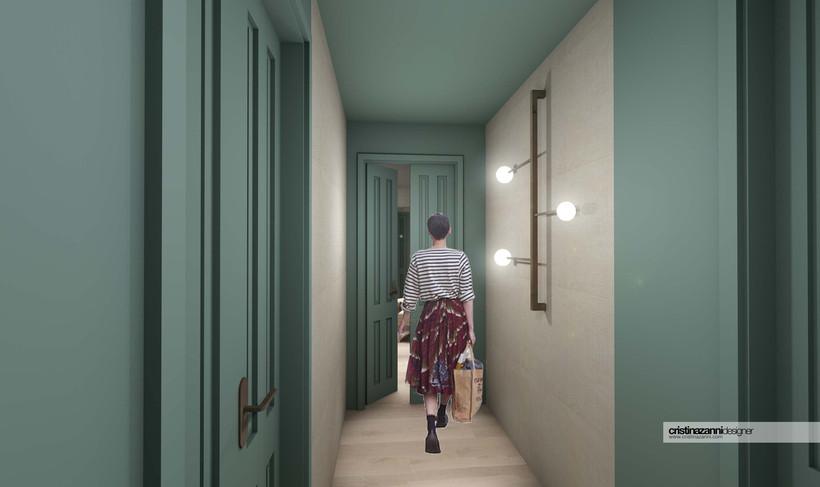 hotel villa eur garden suite cristina zanni designer