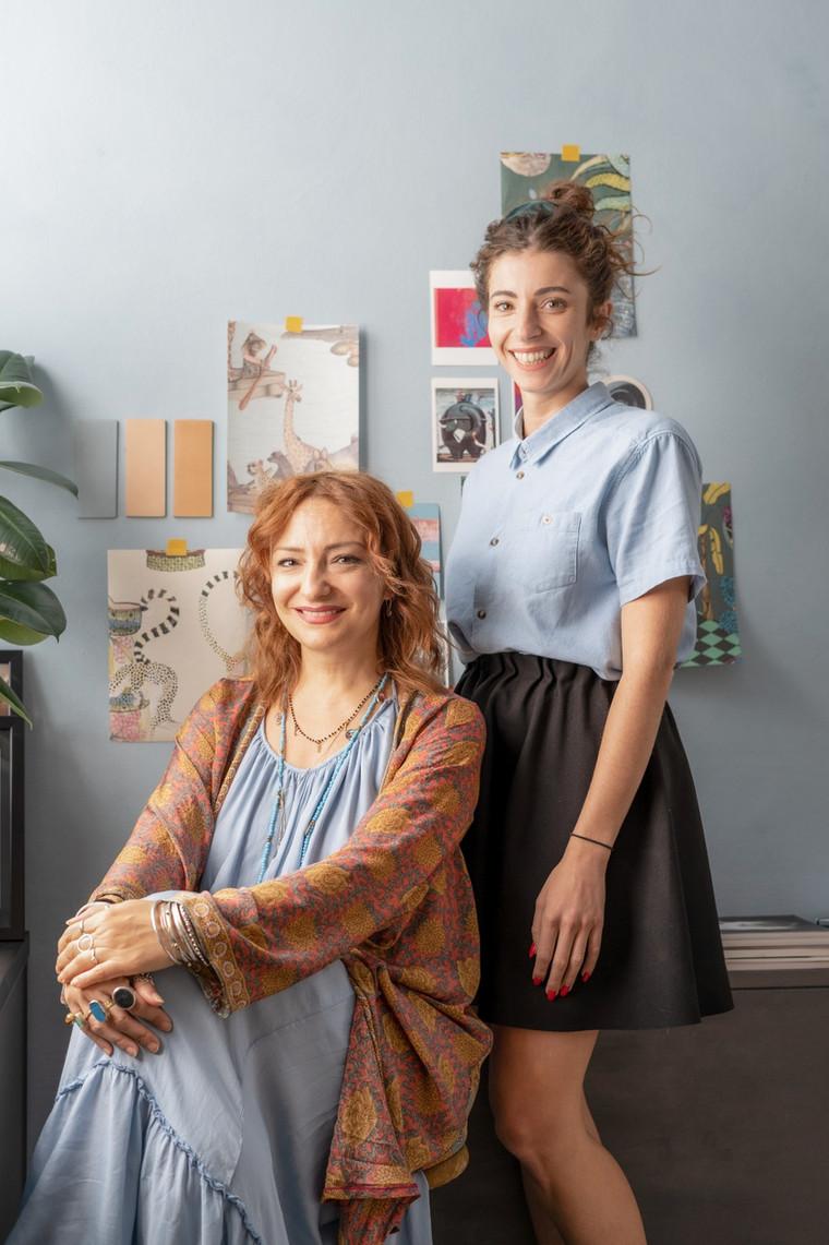 Cristina Zanni designer + Chiara Lucchisiani architetto