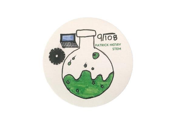 STEM Sticker Beaker 2-Pack